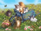 Field Trip for Kittens - 300pc Large Format Jigsaw Puzzle by SunsOut
