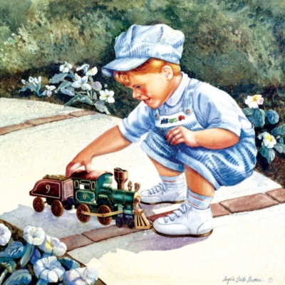 Sidewalk Engineer - 500pc Jigsaw Puzzle by SunsOut