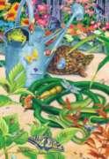 Garden Hustle - 300pc Large Format Jigsaw Puzzle by SunsOut