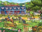 Day at the Races - 300pc Large Format Jigsaw Puzzle by SunsOut