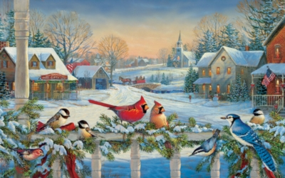 Town Meeting - 300pc Large Format Jigsaw Puzzle by SunsOut