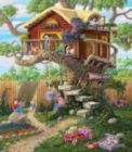 Girl's Clubhouse - 300pc Jigsaw Puzzle by SunsOut