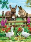 Fenceline Pals - 300pc Large Format Jigsaw Puzzle by SunsOut