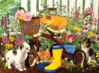 Can't Reach the Pedals - 300pc Large Format Jigsaw Puzzle by SunsOut