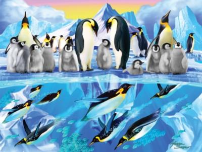 Penguin Place - 300pc Jigsaw Puzzle by SunsOut
