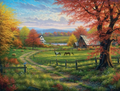 Peaceful Tranquility - 300pc Large Format Jigsaw Puzzle by SunsOut
