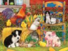 Farm Friends - 300pc Large Format Jigsaw Puzzle by SunsOut