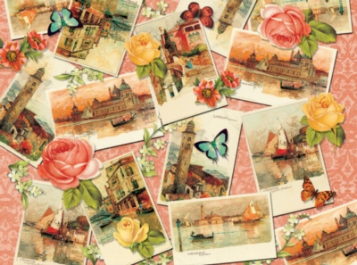 Italian Postcards - 500pc Jigsaw Puzzle by SunsOut