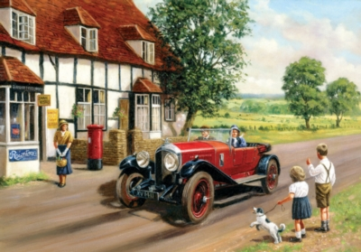 Out in the Country - 500pc Jigsaw Puzzle by SunsOut