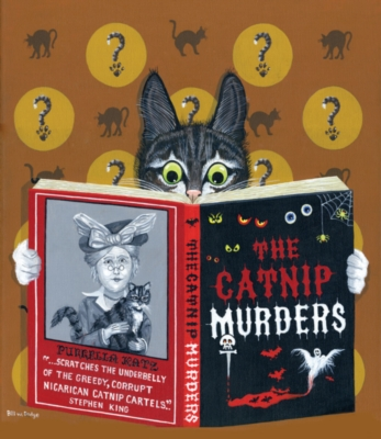 The Catnip Murders - 550pc Jigsaw Puzzle by SunsOut
