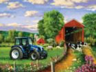 Country Lane - 500pc Jigsaw Puzzle by SunsOut