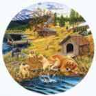 Family Picnic - 500pc Jigsaw Puzzle by SunsOut