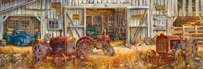 Tractors - 500pc Jigsaw Puzzle by SunsOut