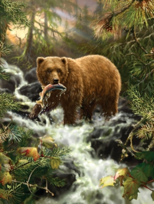 Grizzly Gorge - 500pc Jigsaw Puzzle by SunsOut