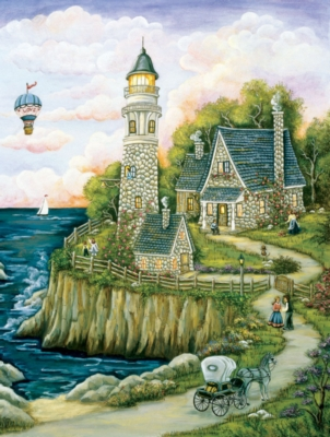 Love Lighthouse - 500pc Jigsaw Puzzle by SunsOut