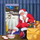 Chessie's Christmas - 500pc Jigsaw Puzzle by SunsOut