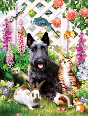 Garden Pals - 500pc Jigsaw Puzzle by SunsOut