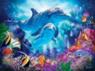 Dolphin Guardian - 500pc Jigsaw Puzzle by SunsOut