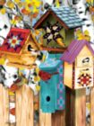 Fall Birdhouses - 1000pc Jigsaw Puzzle by SunsOut