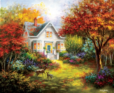 Autumn Overtures - 1000pc Jigsaw Puzzle by SunsOut
