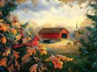 Red River Crossing - 1000pc Jigsaw Puzzle by SunsOut
