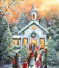 Silent Night Gathering - 1000pc Jigsaw Puzzle by SunsOut