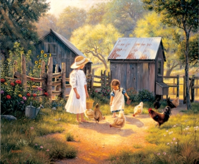 Doing our Chores - 1000pc Jigsaw Puzzle by SunsOut
