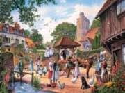 Village Wedding - 1000pc Jigsaw Puzzle by SunsOut