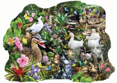 Just Ducky - 1000pc Shape Jigsaw Puzzle by SunsOut