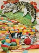 Mama's Sleeping - 1000pc Jigsaw Puzzle by SunsOut