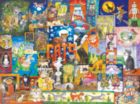 World of Cats - 1000pc Jigsaw Puzzle by SunsOut
