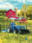 New Holland Out in the Field - 1000pc Jigsaw Puzzle by SunsOut