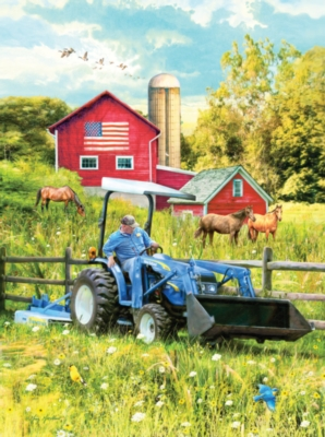 New Holland Field Day - 1000pc Jigsaw Puzzle by SunsOut