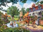 A Village Summer - 1000pc Jigsaw Puzzle by SunsOut