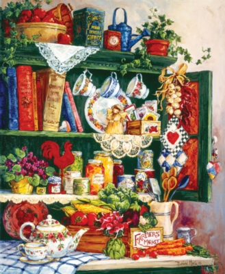 Grandma's Cupboard - 1000pc Jigsaw Puzzle by SunsOut