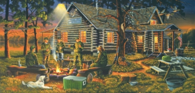 Campfire Memories - 1000pc Jigsaw Puzzle by SunsOut
