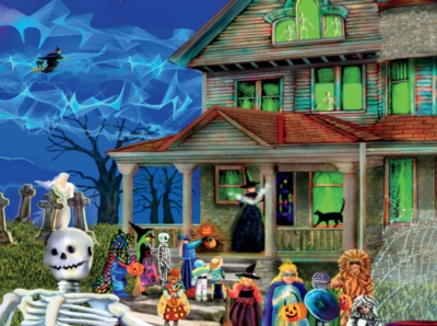 Halloween Hostess - 1000pc Jigsaw Puzzle by SunsOut