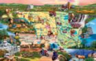 Badlands and Sky Waters - 1000pc Jigsaw Puzzle by SunsOut