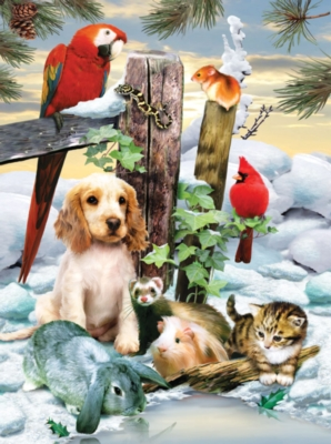 Winter Warmth - 1000pc Jigsaw Puzzle by SunsOut