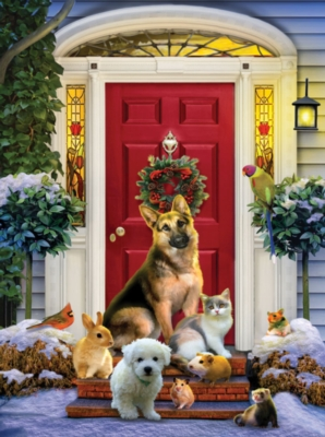 The Welcoming Committee - 1000pc Jigsaw Puzzle by SunsOut