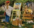 The Little Artist - 1000pc Jigsaw Puzzle by SunsOut