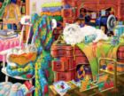 Quilter's Helpers - 1000+pc Large Format Jigsaw Puzzle by SunsOut