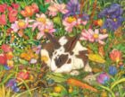 Bunnies in the Garden - 1000+pc Jigsaw Puzzle by SunsOut