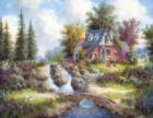 Alpine Falls - 1000+pc Jigsaw Puzzle by SunsOut