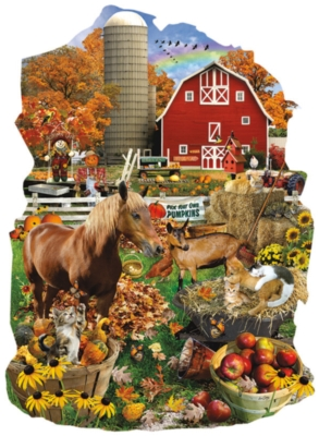 On the Farm - 1000pc Jigsaw Puzzle by SunsOut