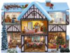 Christmas Eve - 1000pc Shape Jigsaw Puzzle by SunsOut