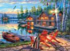 Darrell Bush: Loon Lake - 1000pc Jigsaw Puzzle by Buffalo Games