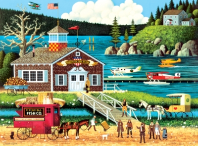 Charles Wysocki: Birds of a Feather - 1000pc Jigsaw Puzzle by Buffalo Games
