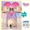 Adorable Animals: Sweet Dreams Puppy Love - 300pc Large Format Jigsaw Puzzle by Buffalo Games