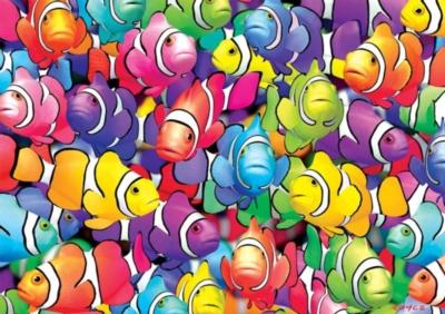 Vivid: Clown School - 300pc Jigsaw Puzzle by Buffalo Games